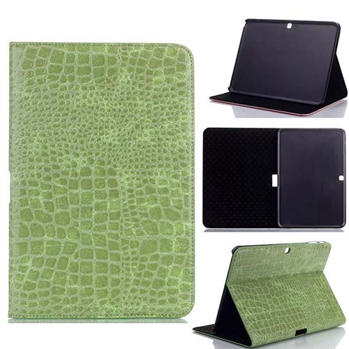 Crocodile High quality PU leather stand case for Samsung Galaxy Tab 4 10.1 Inch
