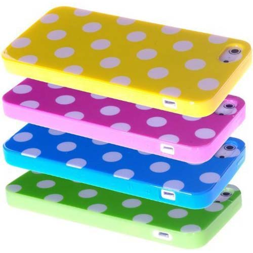 IMD Polka Dot Case Cover for apple iphone 5C